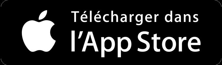 Logo de téléchargement Apple Store