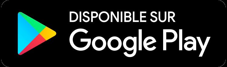 Logo de téléchargement Google Play